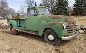 Color Or Colour by Made In Canada 1953 Chevrolet 1434 Pickup