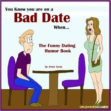 Bad Date Funny Dating Cartoon Picture