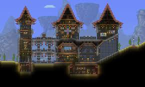 Small Castle by Weekly Building Contest Thread Castle Terraria