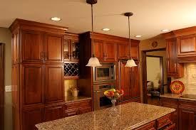 Kitchen Backsplash Cherry Cabinets by Granite Backsplash Ideas Kitchen Traditional With Backsplash