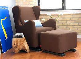 Upholstered Glider Vola Glider Chair Modern Nursery Furniture By Monte Design