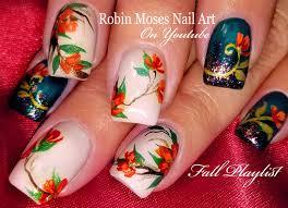 Robin Moses Nail Art by Robin Moses Nail Art Fall Nails Easy Autumn Nail Art Design