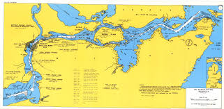 Detroit Michigan Map by Detroit District U003e Missions U003e Operations U003e St Marys River Mi