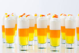party on this halloween with candy corn jello shots brit co