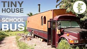 bus converted into full time tiny house amazing custom rv