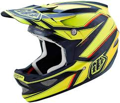 troy lee designs motocross helmet troy lee designs d3 reflex yellow buy cheap fc moto