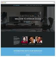 Interior Designer Website by Free Responsive Interior Design Wordpress Theme