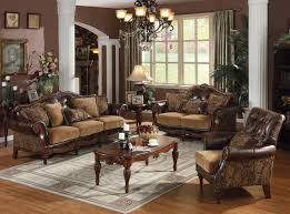 dreena traditional bonded leather and chenille living room set acme dreena traditional bonded leather and chenille living room set