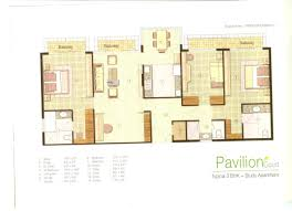 pavilion court by jaypee greens sector 128 noida 3bhk