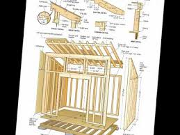 Diy 10x12 Shed Plans Free by Free Shed Plans 8x12 Pdf Shed Row Plans