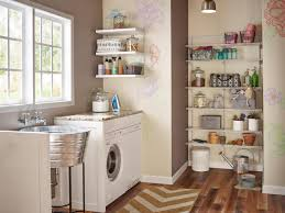 What To Do With The Space Above Your Kitchen Cabinets 10 Clever Storage Ideas For Your Tiny Laundry Room Hgtv U0027s