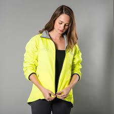 fluorescent bike jacket proviz women u0027s reversible high viz reflective cycling jacket
