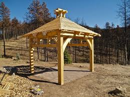 Timber Frame Pergola by Timber Frame Pergolas Brewster Timber Frame Company Bellvue
