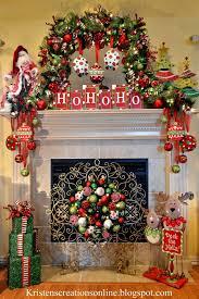 kristen u0027s creations whimsical christmas mantel 2013