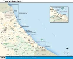 Map Of South America And Caribbean by Printable Travel Maps Of Costa Rica Moon Travel Guides