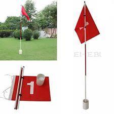 Backyard Golf Hole by Backyard Practice Golf Hole Pole Cup Flag Stick 3 Section Putting
