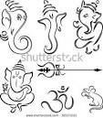 Ganesha Diwali Collection Stock Vector 60571021   Shutterstock