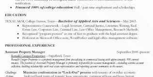 Assistant Property Manager Resume Sample by Assistant Property Manager Resume Examples Assistant Property