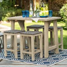 Patio Furniture Counter Height Table Sets - high patio dining set patio outdoor decoration