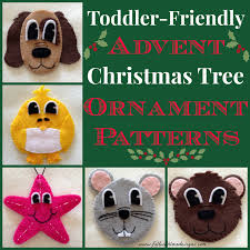 felt toddler friendly advent christmas tree peek at the first 5