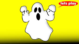 ghost halloween cartoon for children learn colors u0026 counting