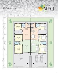 pretentious design ideas single story semi detached house plans 14