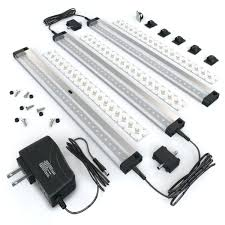 eshine 3 12 inch panels led under cabinet lighting with ir sensor