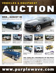 sold august 30 vehicles and equipment auction purplewave inc
