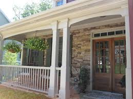 Simple Covered Patio Designs by Small Covered Porch Ideas How To Spruce Up Your Porch For Spring
