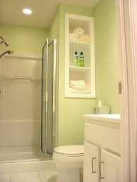 interior astounding small bathroom in light green including one