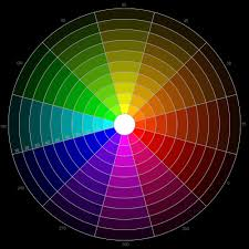 Color Or Colour by 12 Hour Rgb Color Wheel With 9 Shades For Each Hue Color