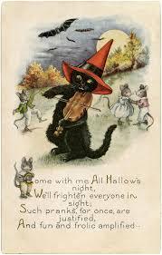 cute black cat digital freebie halloween pinterest black