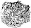 Vue éclatée de mooteur - Renault - Mécanique / Electronique ...
