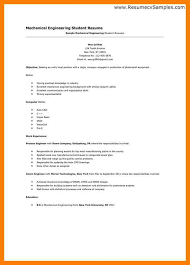 Student Resume Examples First Job by Resume Template First Job