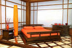 Fresh Orange Bedroom Design - interior design & architecture ideas ...