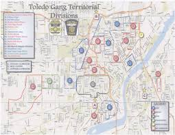 Ohio State Parks Map The Blade Obtains Toledo Police Department U0027s U201cgang Territorial