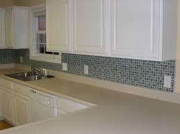 kitchen grey glass subway tile mosaic backsplash white kitchen col