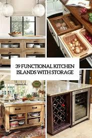 Sur La Table Kitchen Island 39 Kitchen Island Ideas With Storage Digsdigs