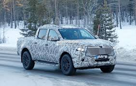 2018 mercedes benz x class pickup begins testing with production