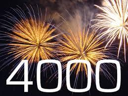 4000 visites !!! dans Actualités du Blog