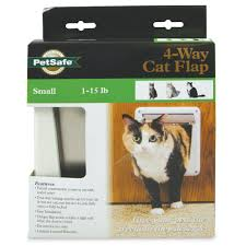 4 way locking cat door by petsafe p1 4w 11