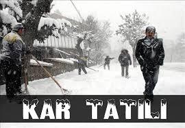 İstanbul'da çarşamba günü Okullara Kar tatili