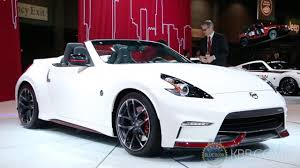 nissan 370z price 2015 nissan 370z nismo roadster concept 2015 chicago auto show youtube