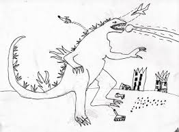 godzilla coloring page simple godzilla coloring page with