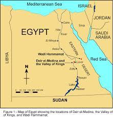Jordan Country Map Mother Egypt Egypt Map
