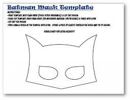 superhero mask template photos woman mask template