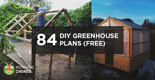 How To Build A Storage Shed Plans Free by 84 Diy Greenhouse Plans You Can Build This Weekend Free