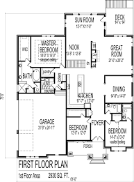 3 bedroom bungalow house floor plans designs single story