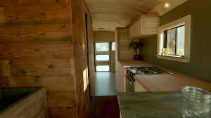 Home Design Shows On Hgtv Charles And Dakota U0027s Tiny Bus House Tiny House Big Living Hgtv