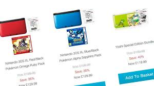 nintendo 3ds xl black friday sale 3ds xl price cut on nintendo uk store vg247